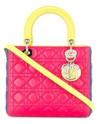 Dior プレオウンドlady Dior ハンドバッグ Pink
