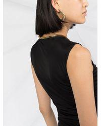 Moschino ギャザーディテール ドレス Black
