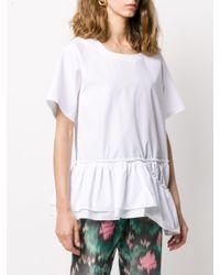 Marni ペプラムヘム Tシャツ White