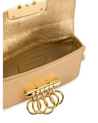 DSquared² Metallic Knuckle Duster Cross-body Bag