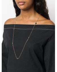 Maha Lozi - Black Peas In A Pod Necklace - Lyst