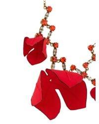 Marni デコラティブ ネックレス Red