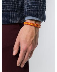 Tod's - Multicolor Braided Wrap Bracelet for Men - Lyst