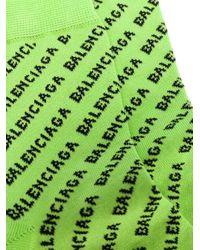 Balenciaga ロゴ 靴下 Green
