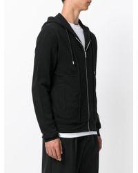 McQ Alexander McQueen - Black Logo Print Hoodie for Men - Lyst