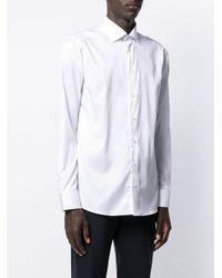メンズ Eton of Sweden ロングスリーブ シャツ White
