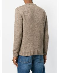White Mountaineering Natural Classic Fitted Sweater for men