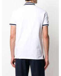 メンズ Polo Ralph Lauren ストライプ ポロシャツ White