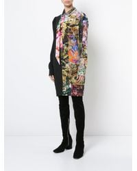A.F.Vandevorst Multicolor Patchwork Shirt Dress
