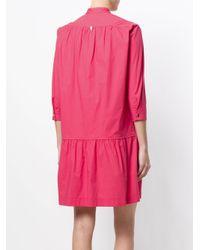 Twin Set - Pink Flared Shirt Dress - Lyst