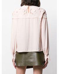 Блузка С Вырезными Деталями See By Chloé, цвет: Pink