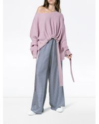 Stella McCartney Pink Violet Knit Jumper