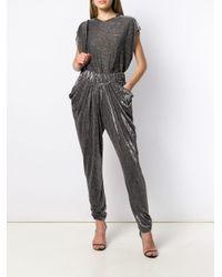 Pantalones drapeados IRO de color Black