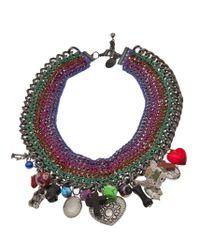Venessa Arizaga | Multicolor 'candy Says' Necklace | Lyst
