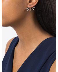 Pamela Love - Metallic Five Spike Earrings - Lyst