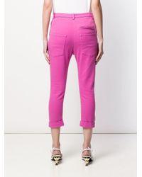 N°21 クロップドパンツ Pink