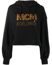 MCM ロゴ パーカー Black