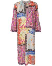 Etro パッチワークプリント ドレス Multicolor