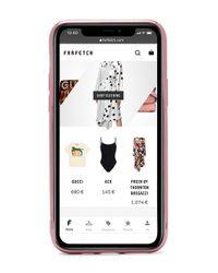 Chiara Ferragni Iphone 11 グリッターケース Pink