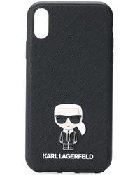 Karl Lagerfeld Karl Iphone Xr ケース Black