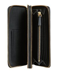 Burberry - Black Trench Travel Wallet - Lyst