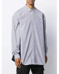 メンズ Juun.J オーバーサイズ シャツ Multicolor