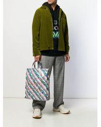 Сумка-тоут С Логотипом Gucci для него, цвет: Multicolor