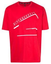 Neil Barrett Red Logo Print T-shirt for men