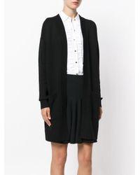 MICHAEL Michael Kors Black Oversized Cardigan