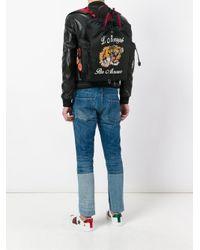 Gucci - Black 'L'Aveugle Par Amour' Rucksack for Men - Lyst