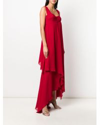 Dior 2000s プレオウンド レイヤード ドレス Red