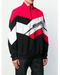 Толстовка С Логотипом MSGM для него, цвет: Black
