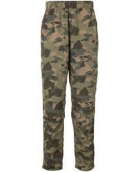 The North Face Green Class V Camouflage Trousers for men