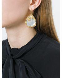 Aurelie Bidermann - Metallic 'françoise' Earrings - Lyst