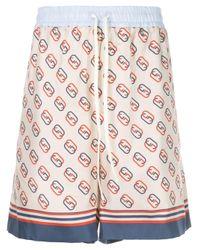 Gucci Multicolor Interlocking GG Shorts for men