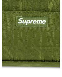 Besace à logo Supreme en coloris Green