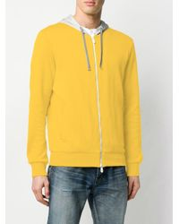 メンズ Eleventy ロングスリーブ パーカー Yellow