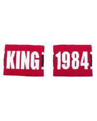 Polsini King di Dolce & Gabbana in Red da Uomo