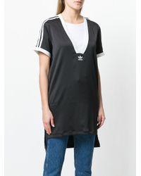 Adidas Black Originals Fashion League V-neck T-shirt