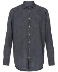 Massimo Alba | Black Classic Checked Shirt for Men | Lyst