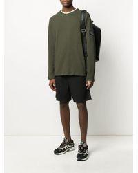 メンズ Calvin Klein Logo Patch Sweatshirt Green