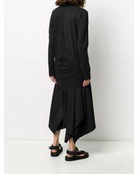 Y-3 ロゴ ロングtシャツ Black