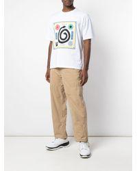 Pantalon droit à poches cargo Opening Ceremony en coloris Natural