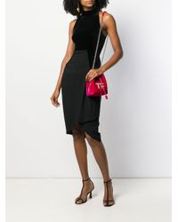 Vestido con cuello halter Tom Ford de color Black