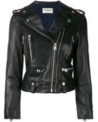 Giacca biker Lenni Fashion Show di Zadig & Voltaire in Black