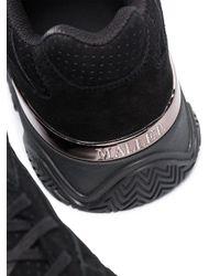 メンズ MALLET FOOTWEAR Lurus スエード スニーカー Black