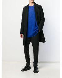 Maglione lungo di Neil Barrett in Blue da Uomo