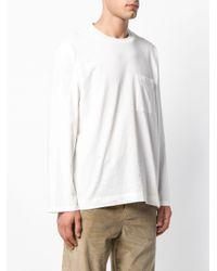 メンズ Our Legacy コットン ロングtシャツ White