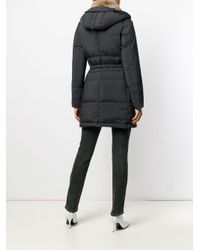 Peuterey - Blue Fur Collar Down Jacket - Lyst