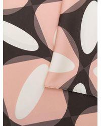 Foulard con stampa geometrica di P.A.R.O.S.H. in Multicolor